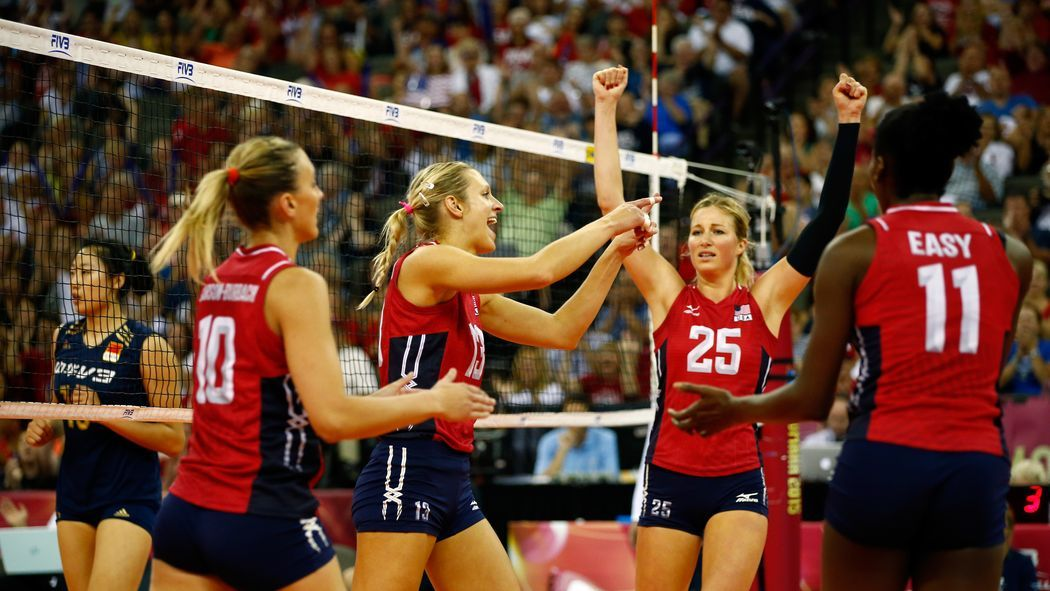 U.S. Women's Volleyball opens against Puerto Rico