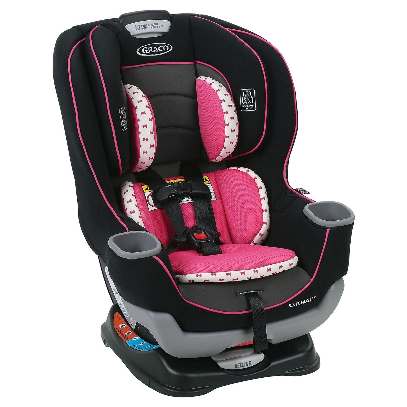 Graco Extend2Fit Convertible Car Seat Sponsored