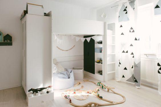 Ikea Etagenbett Vorhang : Purchased the ikea stuva bed but thinking of taking it back