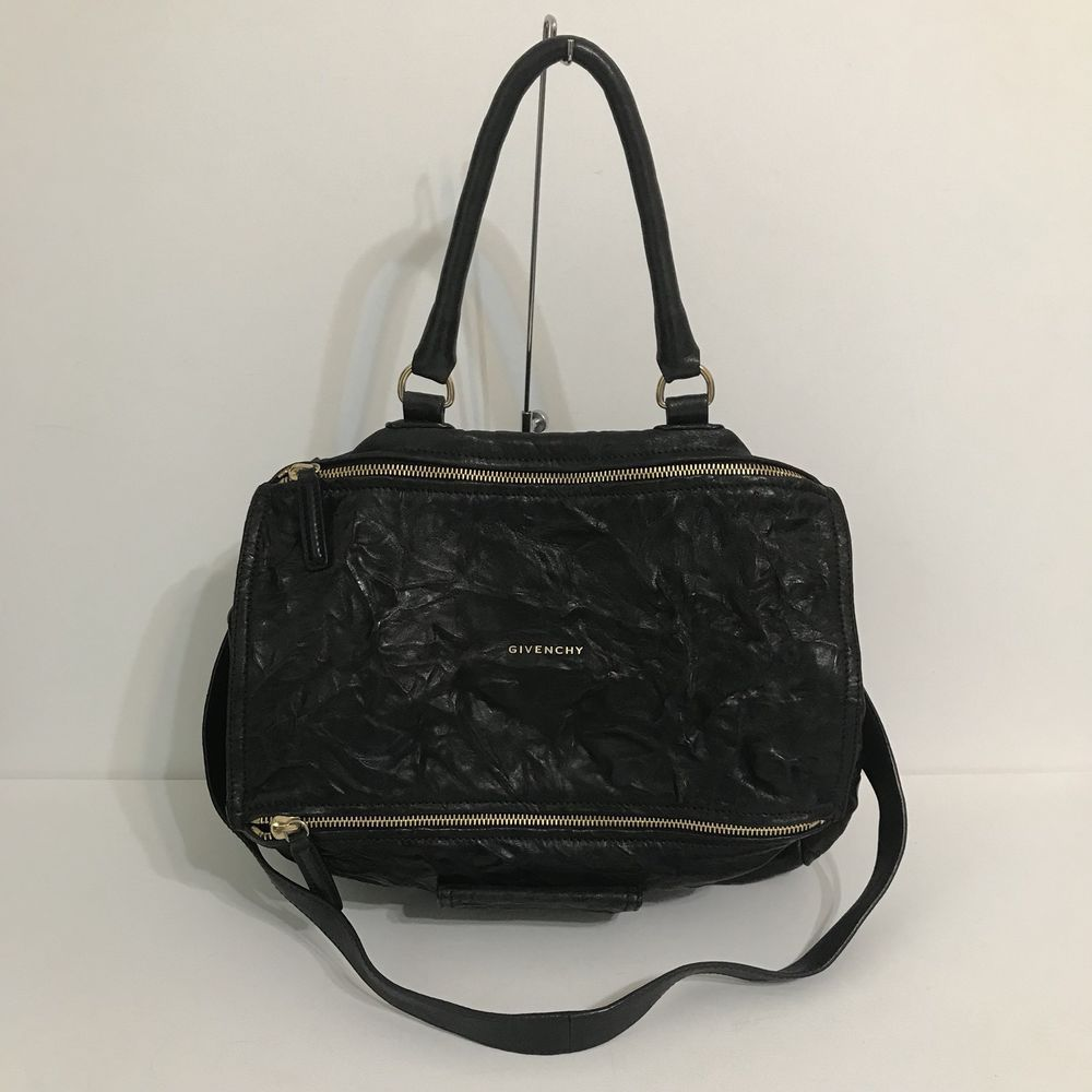 251b744a3c9 Authentic Givenchy Pepe Large Pandora Shoulder Bag Crossbody Black   eBay  Pouch, Givenchy, Dust