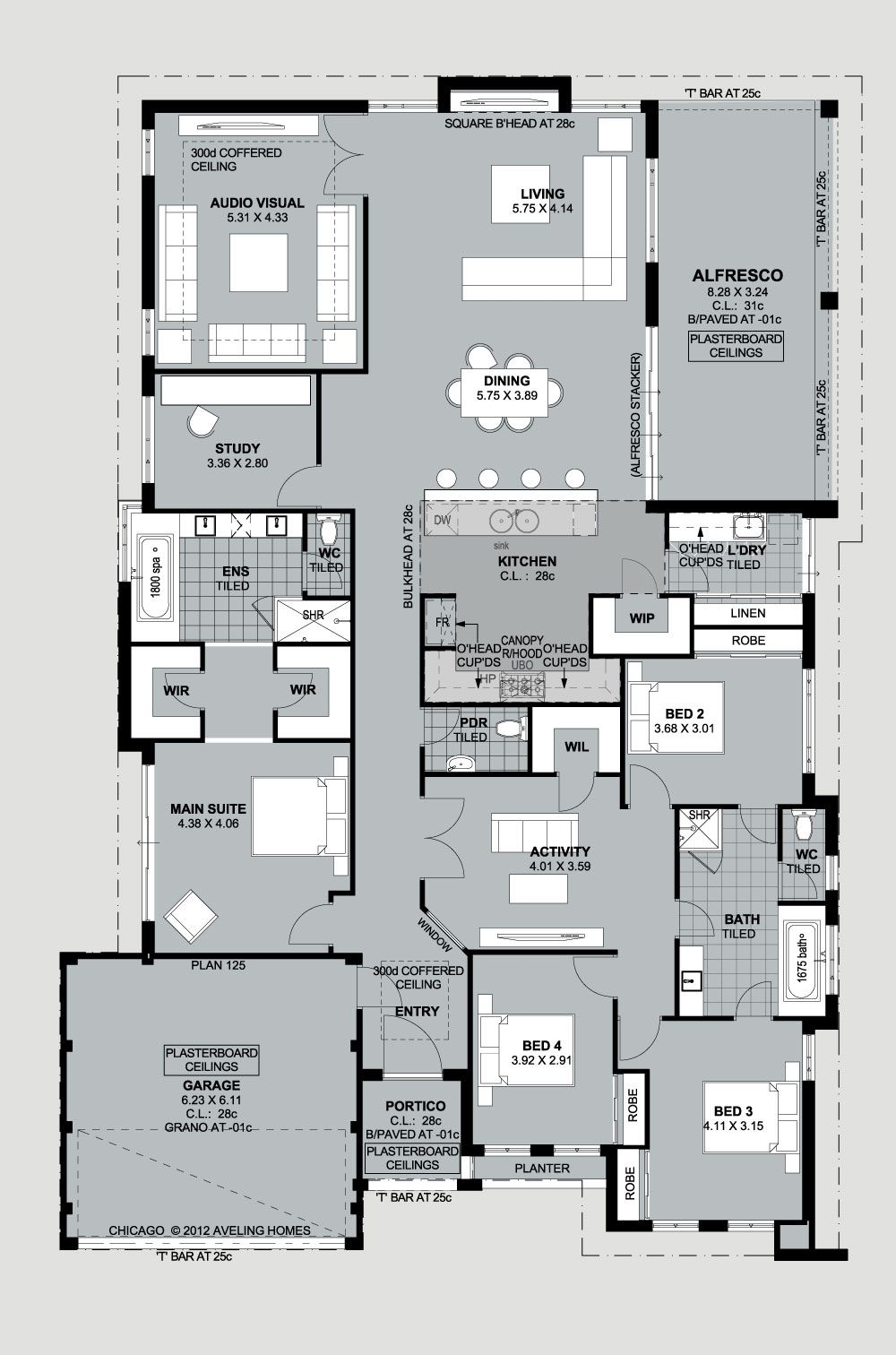 Home Builders Perth Luxury House Plans Home Design Floor Plans House Plans