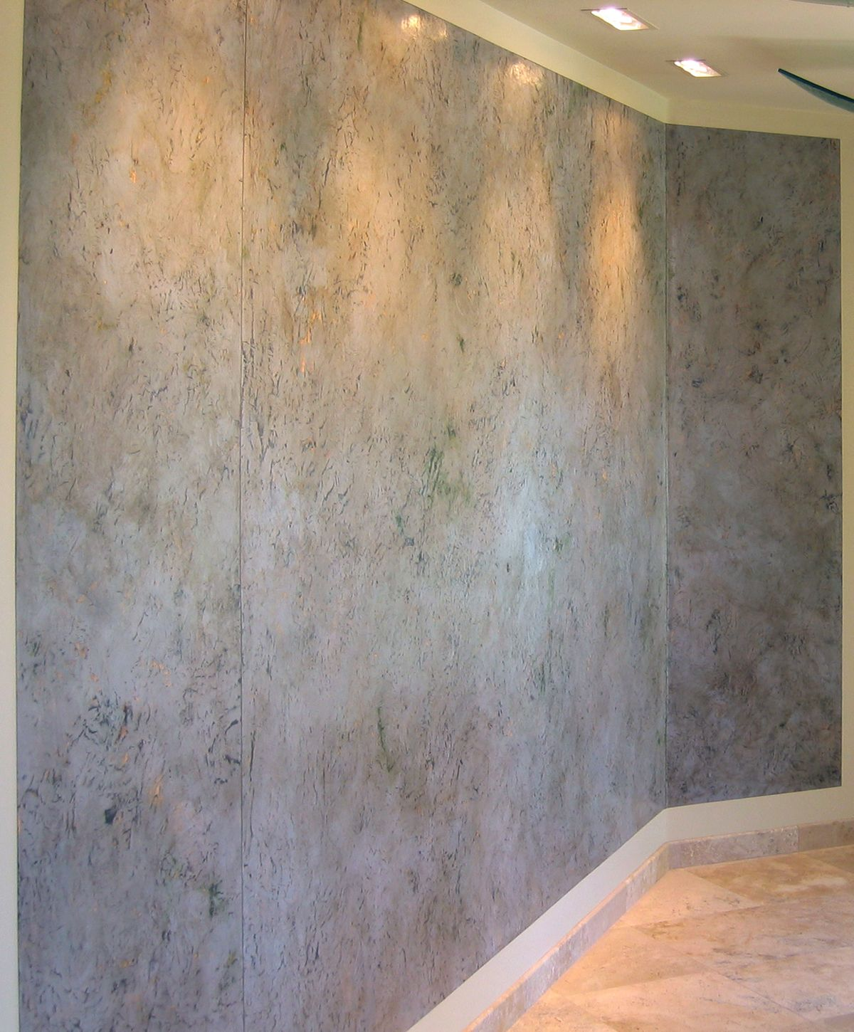 Polished venetian plaster wall finishjohn hiemstra How to finish a concrete wall
