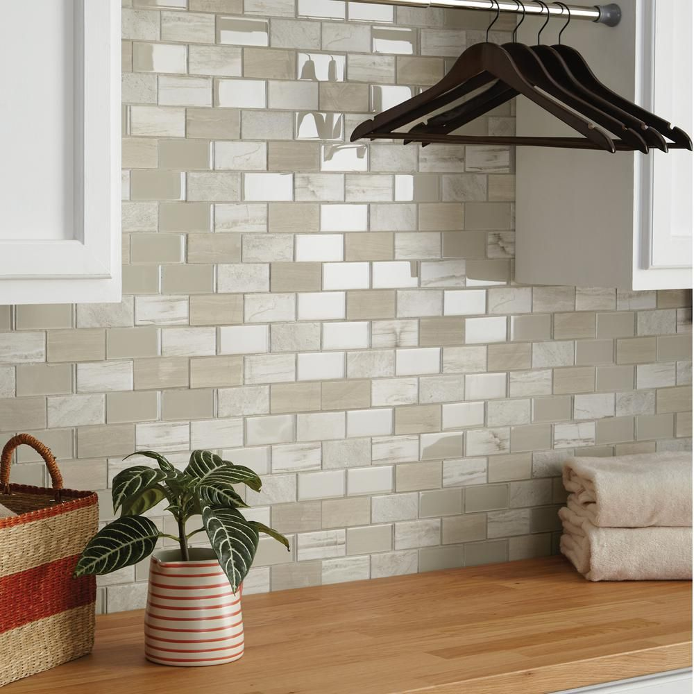 Daltile Premier Accents Beach Brick Joint 11 In X 13 In X 6 Mm
