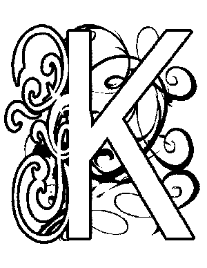 IlluminatedLetter Coloring Pages  Art Ed  Royal Kingdom