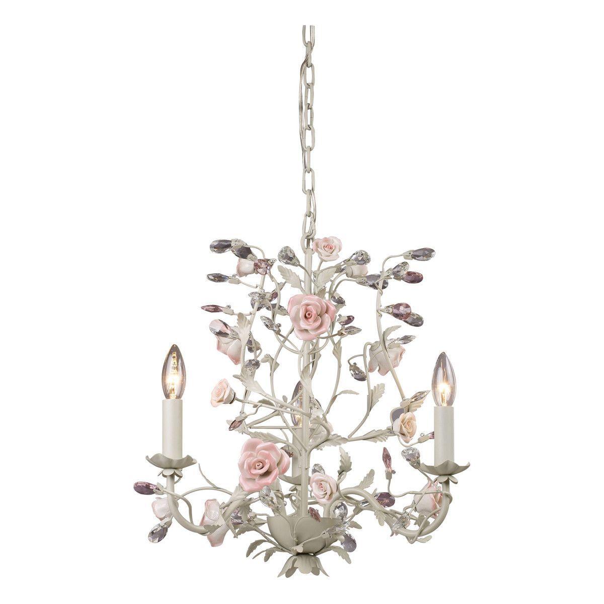 Heritage 3 light chandelier in cream chandeliers cream heritage 3 light chandelier in cream mozeypictures Images