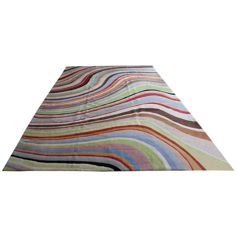 Colorful Paul Smith Swirl Rug