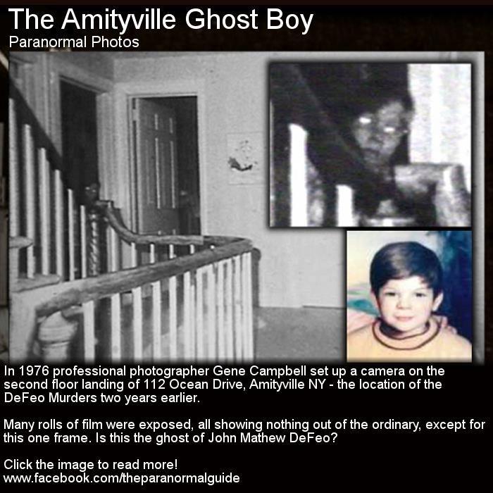 Amityville Horror House - DeFeo Ghost Boy.