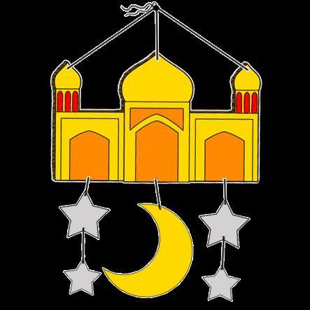Mosque Mobile Decoration