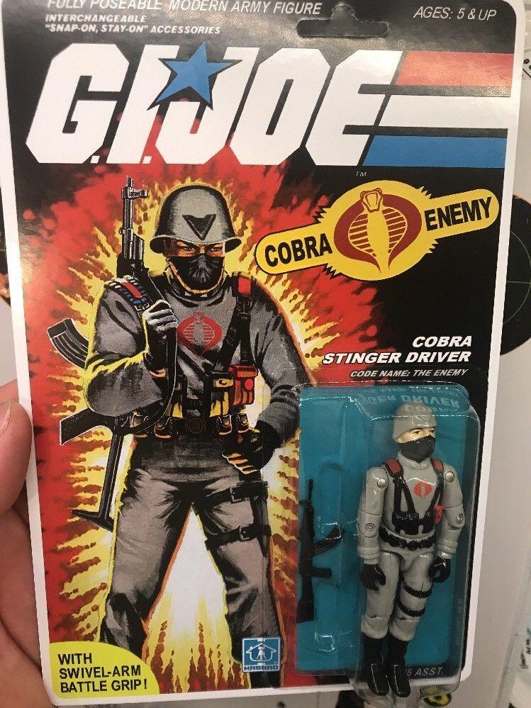 Gi joe 1984 Cobra Stinger part accessories