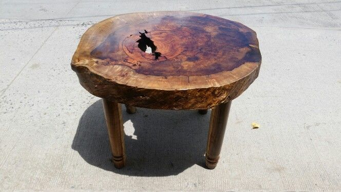 Manggo Top Acacia Legs Coffee Table Designed By Dhindo De Guzman