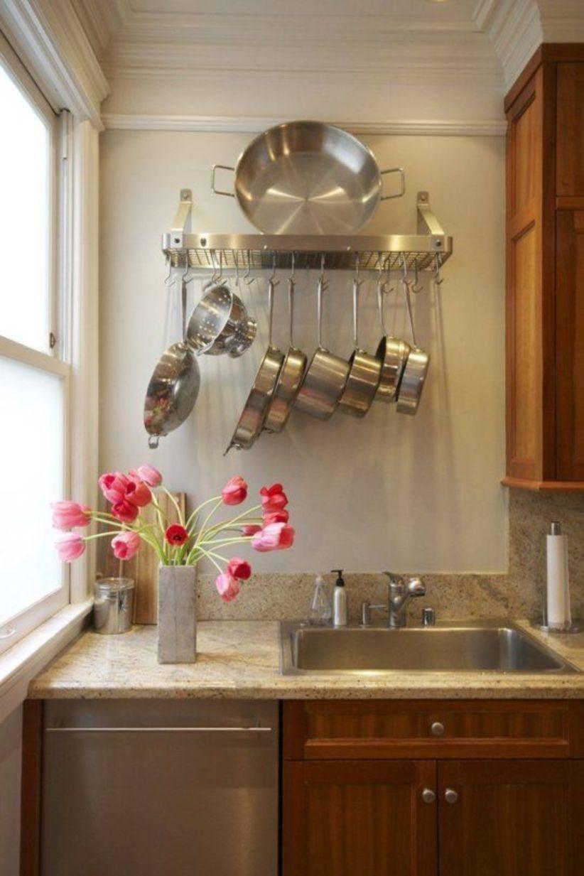 45 fantastic kitchen organization ideas for small apartment home kitchens kitchen on kitchen decor organization id=45020