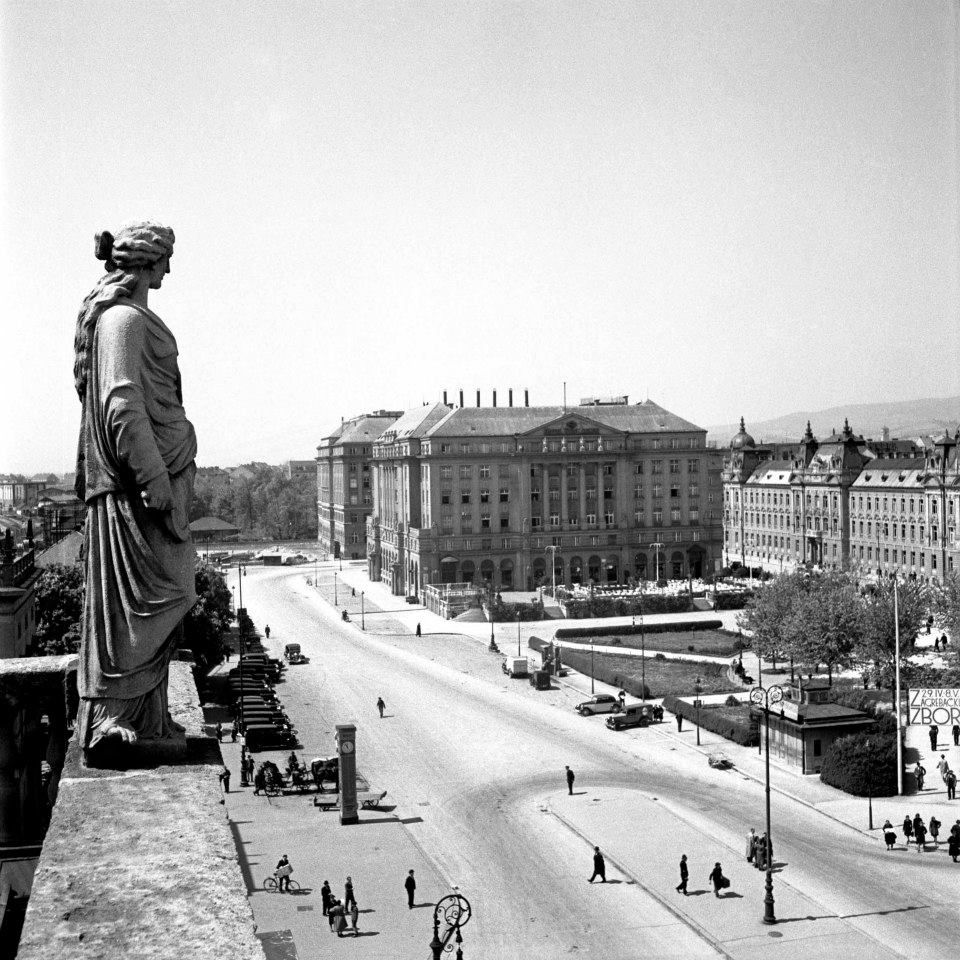 Old Zagreb By Toso Dabac Croatian Photography Dabacy Zagreb Zagreb Croatia Photo