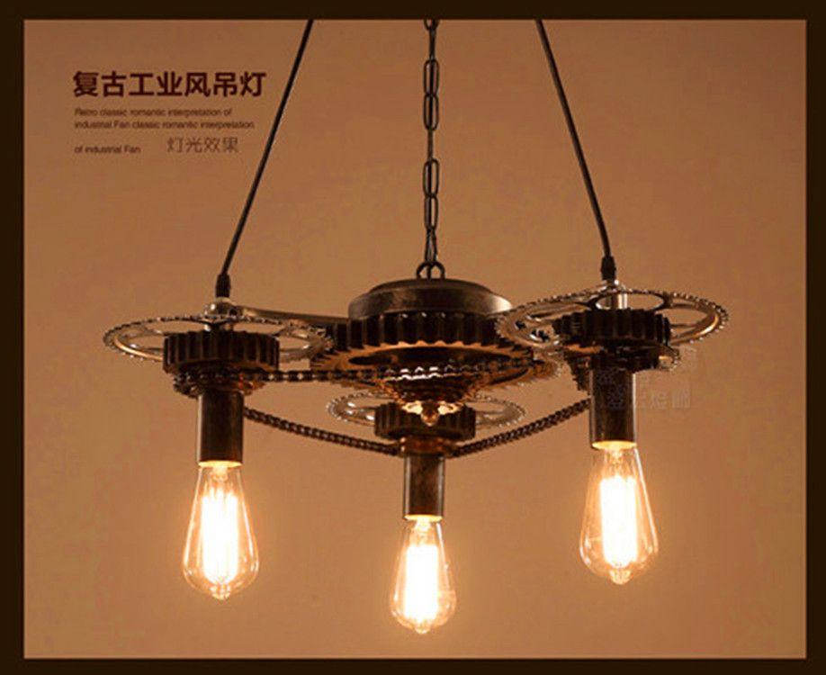 Industriele Lampen Goedkoop : Goedkope industriële hanglampen edison opknoping lampen loft