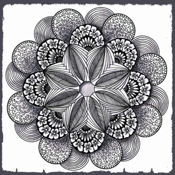galerie kreisbilder  zendalas with images  mandala
