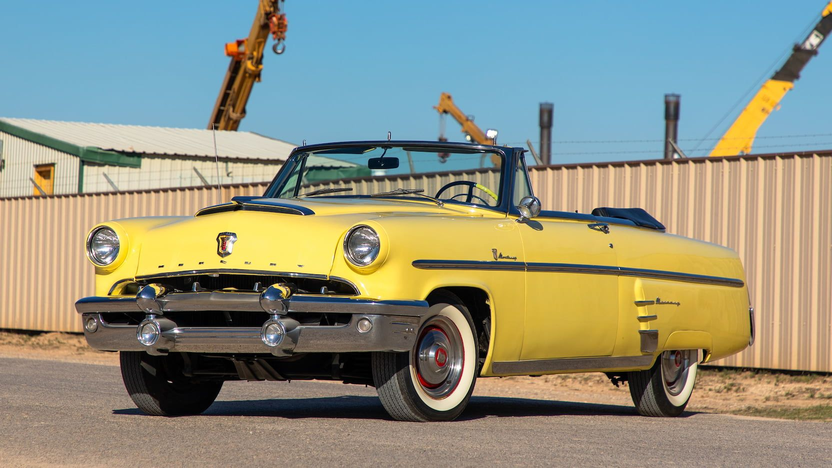 1953 Mercury Monterey Convertible Presented As Lot T262 At
