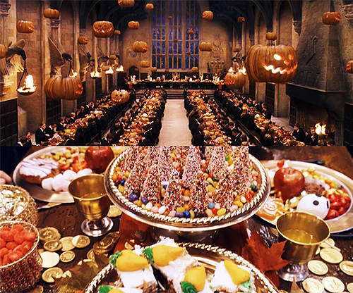 Hogwarts Dining Hall Feast