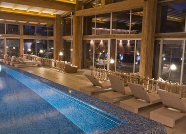Infinity Pool Deutschland pool panoramapool schwimmen swim schwimmbad spa wellness