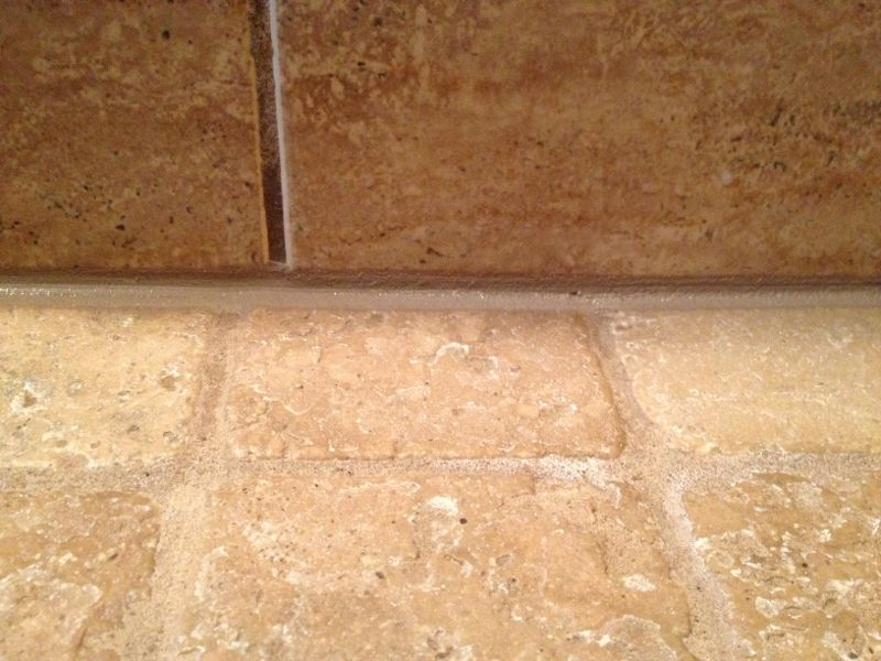 Bathroom Tiles Leaking bathroom grout repair, nj we were called to fix a leaking ceiling