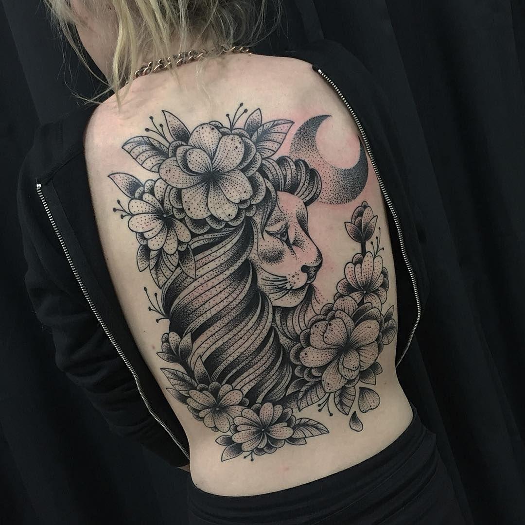Female Lion Tattoos Www Miifotos Com