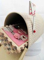 Mini album in mailbox