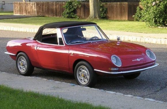 Smoky Project 1967 Fiat Abarth 1000 Ot Spider Veicoli Auto Steyr