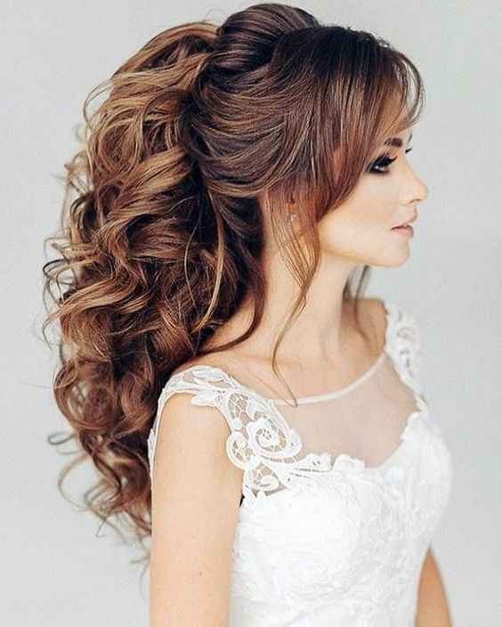 25 Stylish Wedding Hairstyles 2018 For Girls