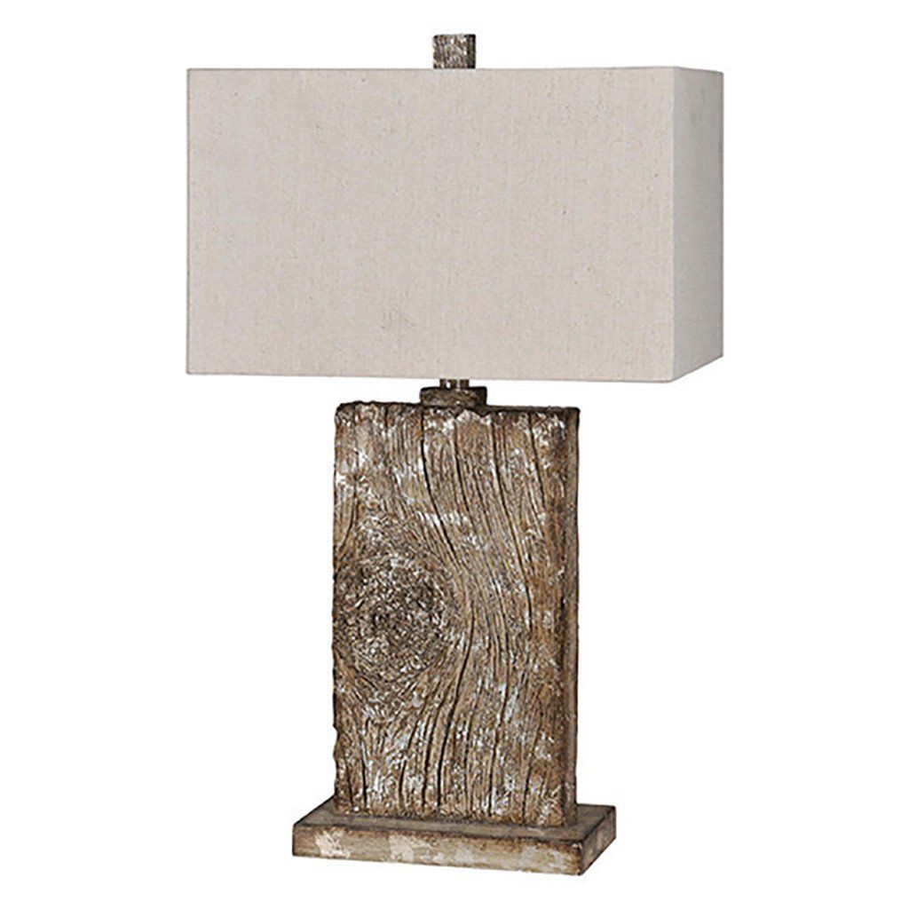 Rustic Wood Table Lamp Light Table Lamp Wood Table Lamp