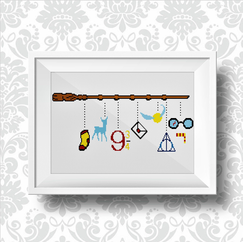 Wizardhogwarts Cross Stitch Pattern Dobby Free Always 9 Etsy Harry Potter Cross Stitch Pattern Cross Stitch Patterns Cross Stitch