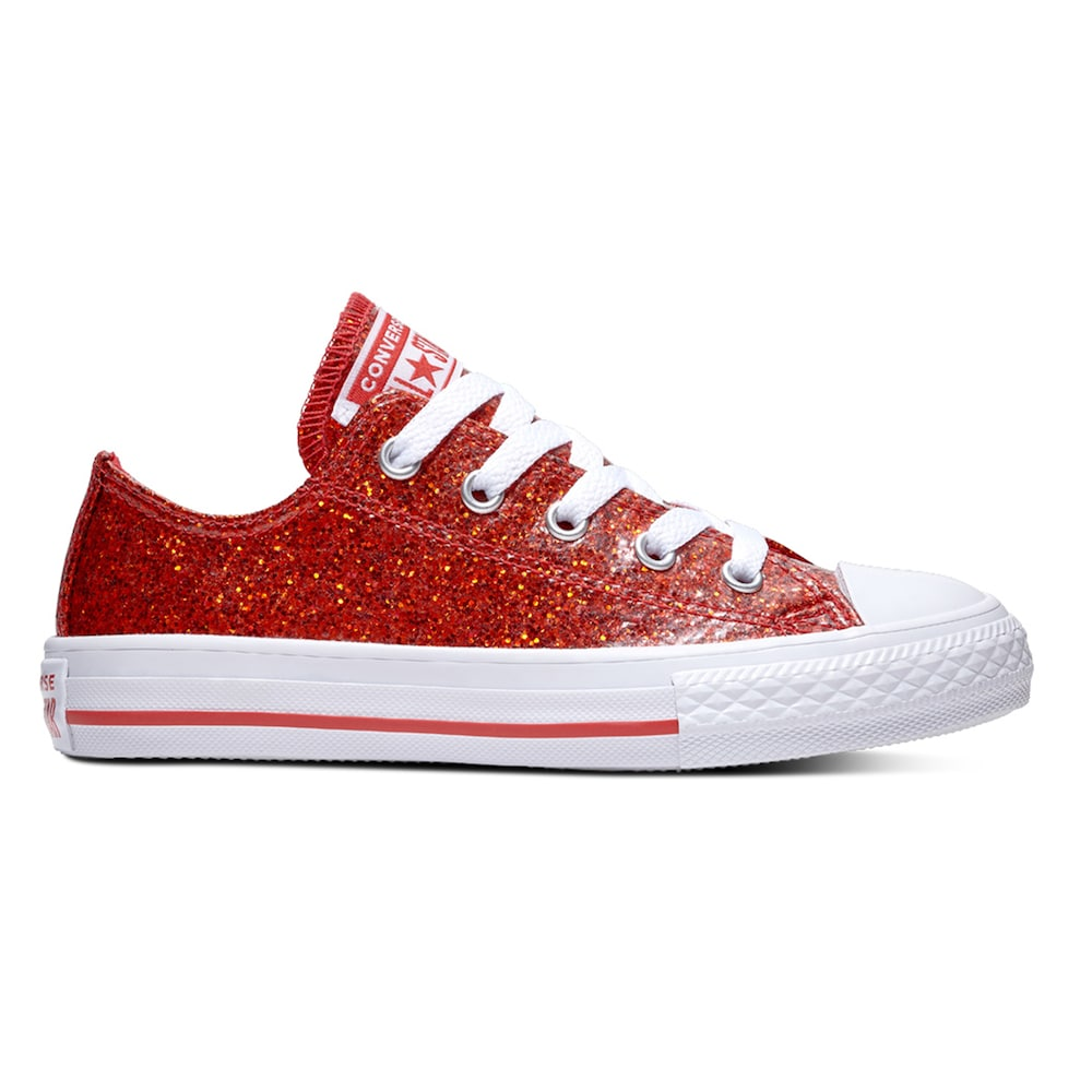 3f92f62d9012 Girls  Converse Chuck Taylor All Star Encapsulated Glitter Sneakers ...