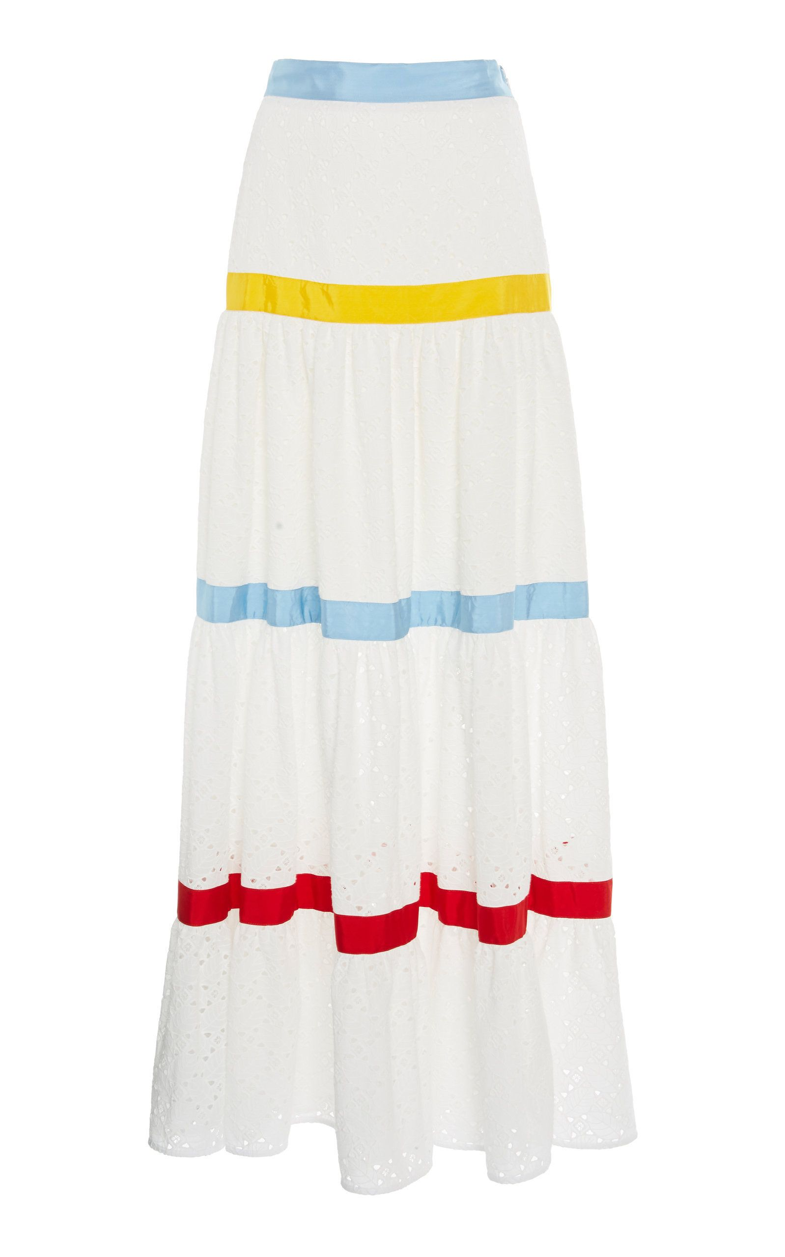 6f513644e9 Click product to zoom Stella Jean, Tiered Skirts, A Line Skirts, Jeans,