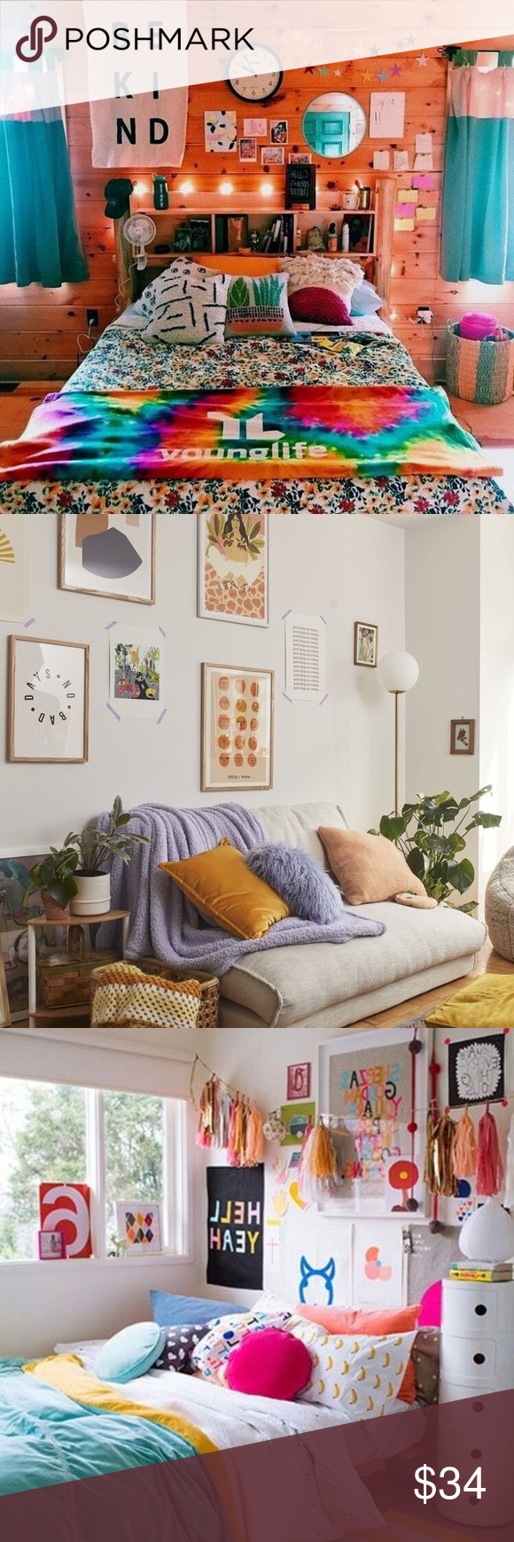 VSCO BEDROOM MYSTERY BOX! 10 piece Looking to give your room a makeover without