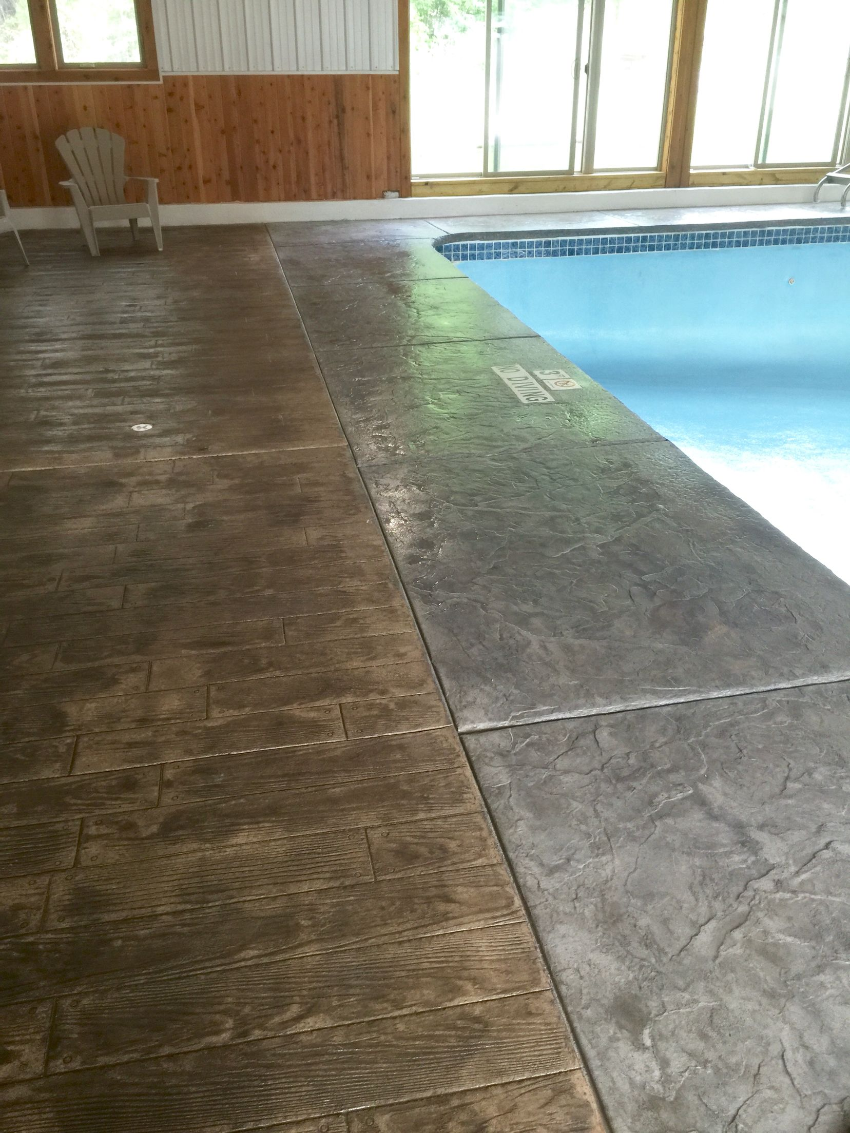 Tile Over Concrete Pool Deck Concrete Pool Coping  Calgacrete High Performance Concrete