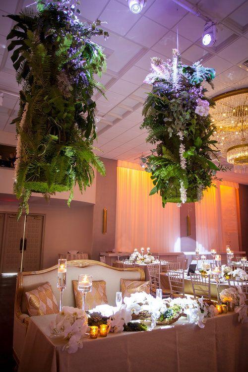 Wedding Decor Sweetheart Table At Emanuel Luxury Venue Miami Beach