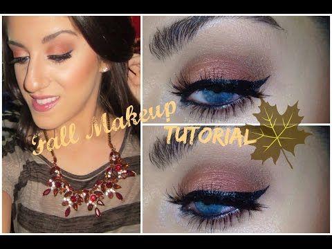 ♡Talk Thru: Fall Makeup Tutorial ft. the Maya Mia Palette♡ - YouTube