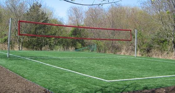 Merveilleux Backyard Volleyball Court, My Kids Are Gonna Enjoy This. But Not As Much As