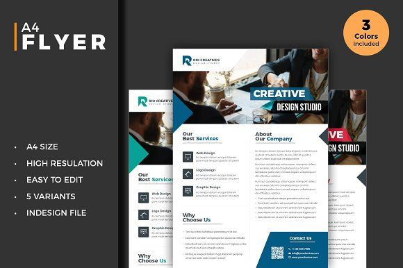 Business Flyer Template Indesign Business Flyer Templates