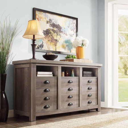 better homes and gardens tv stand. Better Homes And Gardens Granary Modern Farmhouse Printers TV Cabinet, Multiple Finishes Tv Stand