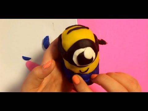 """Do you love Minion? I DO!!  He is so cute looking. Today, I want to make him with Play Doh.  I will let my imagination explore and make him as cute as possible, just like the way he is. Making Minion is inspired by the movie, """"Despicable Me"""", now in Blu-Ray DVD. THX 4 watching another toy review from Kockatu."""