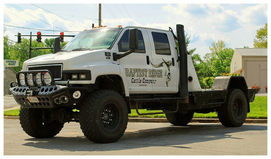 A Gmc C5500 4x4 Duramax Diesel Truck By Theman268 Light Trucks