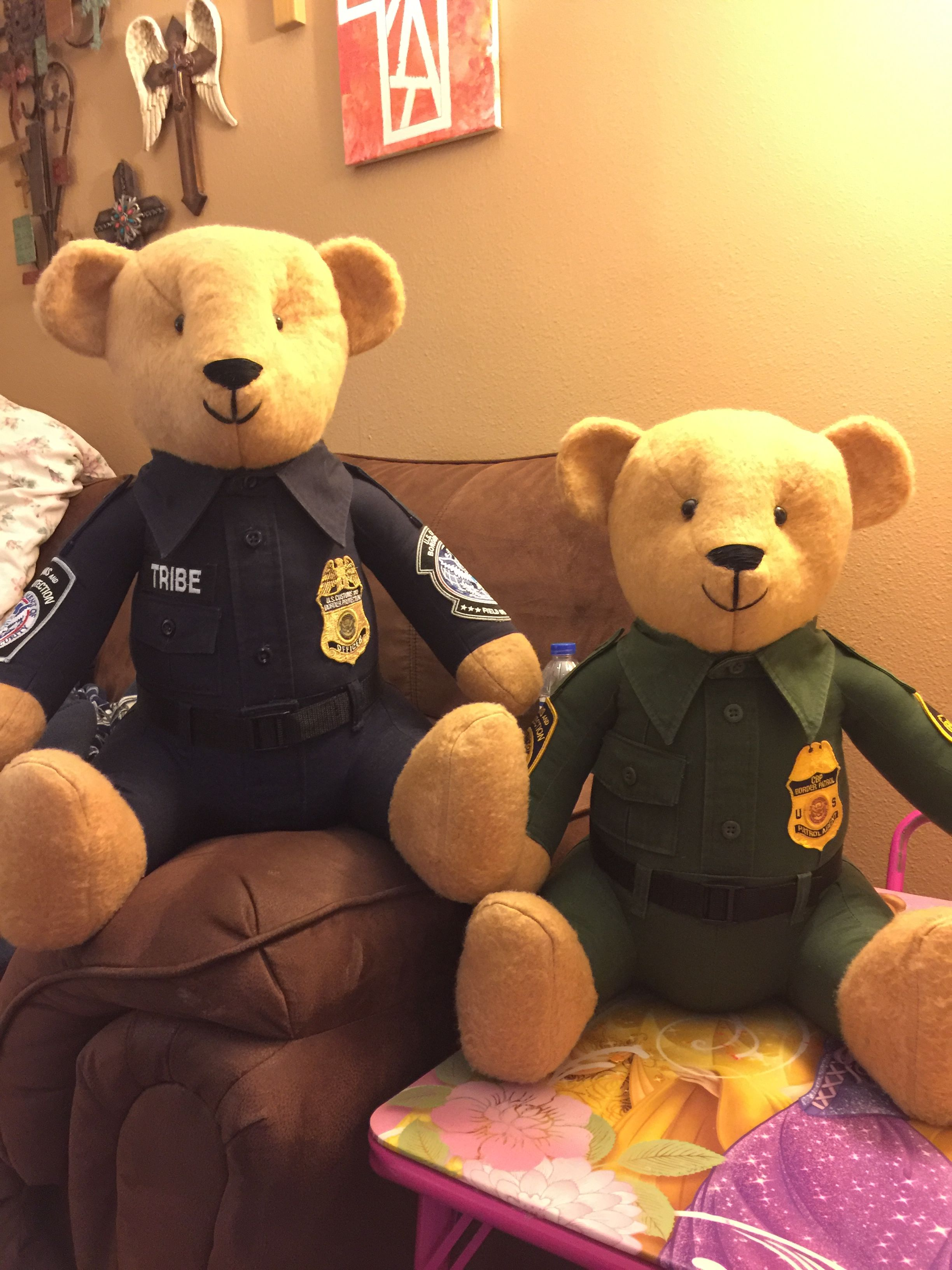 a108b0897de CBP and Border Patrol Custom made Bears