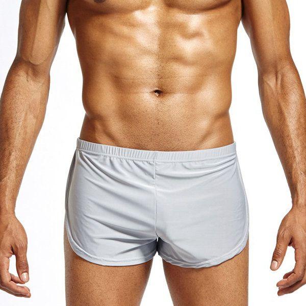 a475de57c35 Fashion Arrow Pants Sexy Ice Silk Breathable Sport Home Soft Low Waist  Underwear for Men - NewChic Mobile