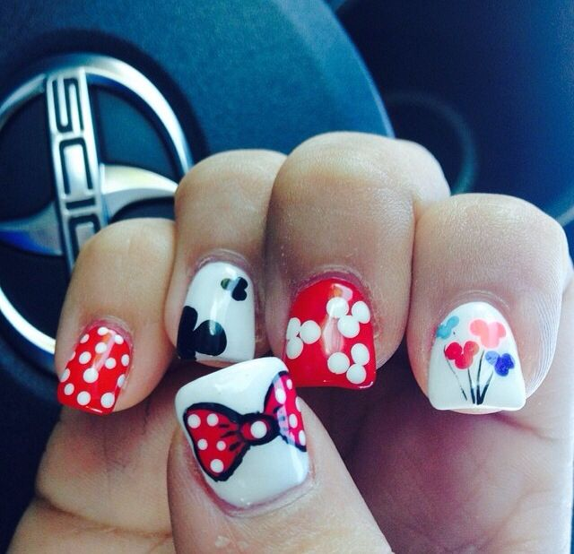 Disney Nails Nails Pinterest Disney Nails Disney Nails Art
