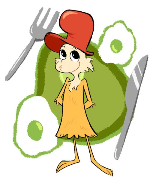 He S Baby Green Eggs And Ham Green Eggs Children Sketch