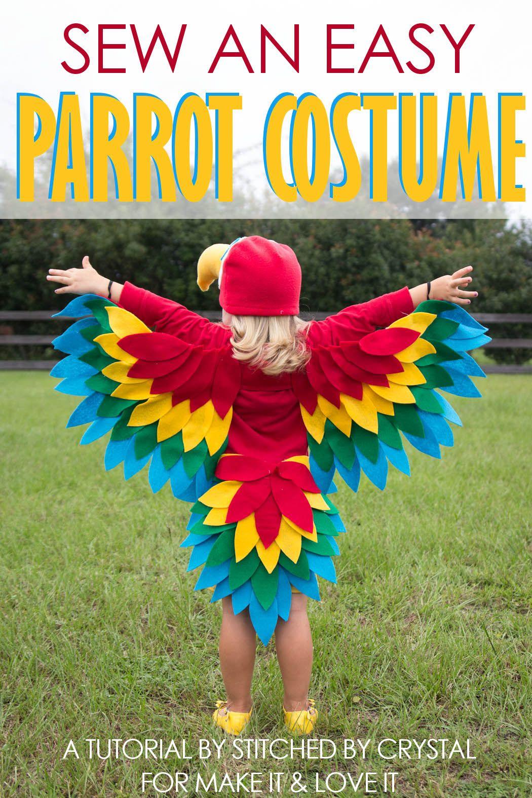 Photo of Nähen Sie ein einfaches Papageienkostüm