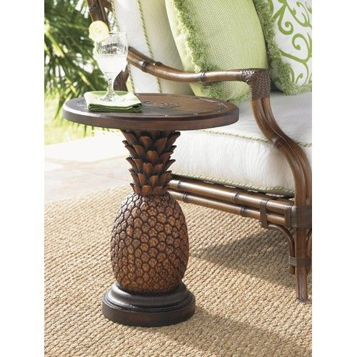 Alfresco Living Sienna Pinele Table With Weatherstone Top