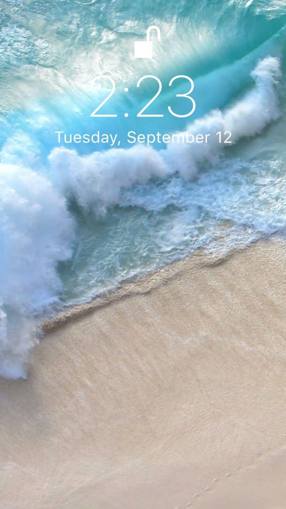 Fond D Ecran Ocean Ocean Wallpaper Waves Wallpaper Iphone Iphone Lockscreen Wallpaper