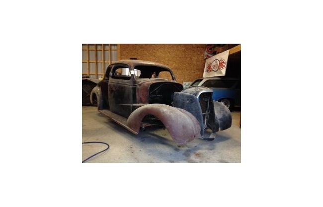 1937 Chevrolet Business Coupe for sale | Hotrodhotline.com