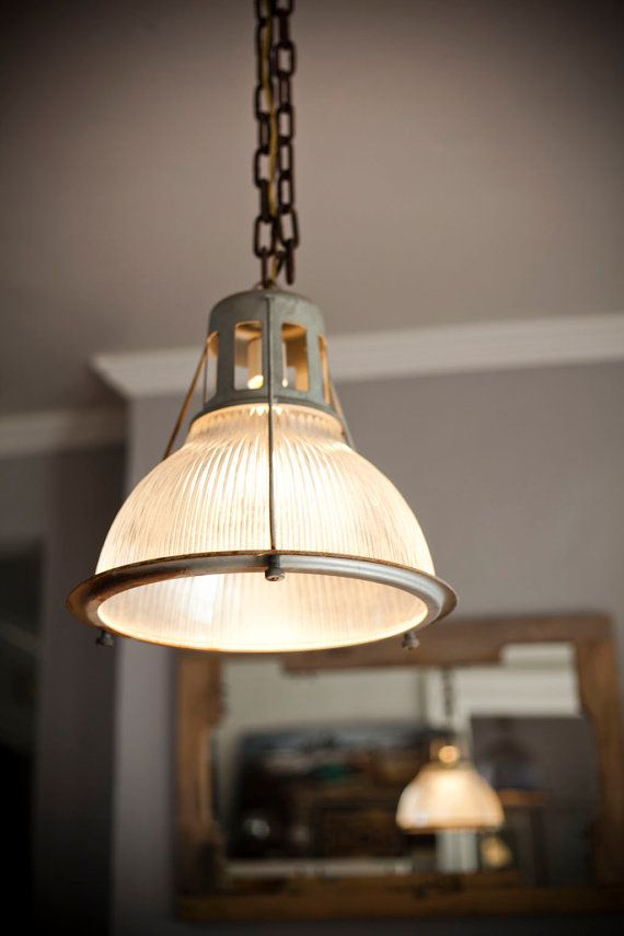 vintage holophane lobay industrial light fixture want so badly