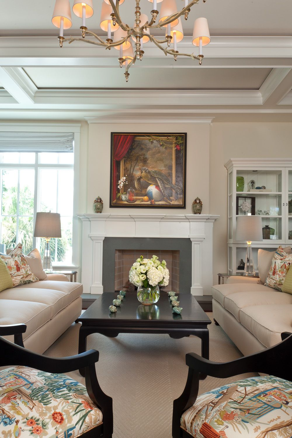 wonderful low ceiling living room ideas | Living Room with Fireplace as focal point and wonderful ...