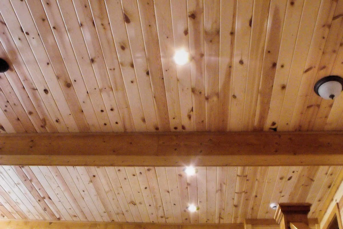 Pine Siding Knotty Pine Paneling On Ceiling Clear Uv Finish Ceiling Ideas In